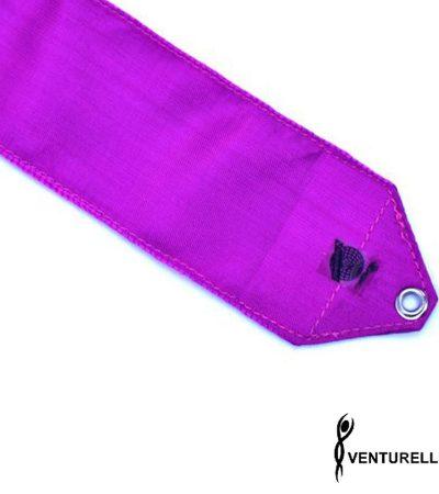 venturelli, ribbon, rhythmic gymnastics, color, purple, 5m, 6m