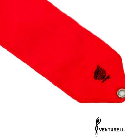 venturelli, ribbon, rhythmic gymnastics, color, red, 5m, 6m
