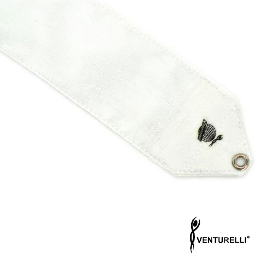 venturelli, ribbon, rhythmic gymnastics, color, white, 5m, 6m