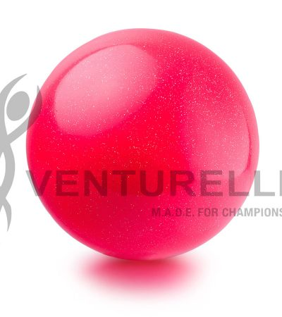 venturelli- ball- glitter-18cm-color- pink