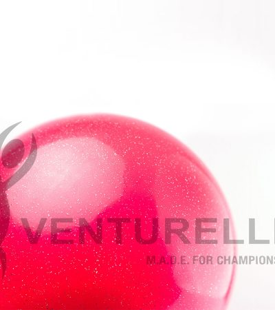 VENTURELLI-PINK-GLITTER-BALL