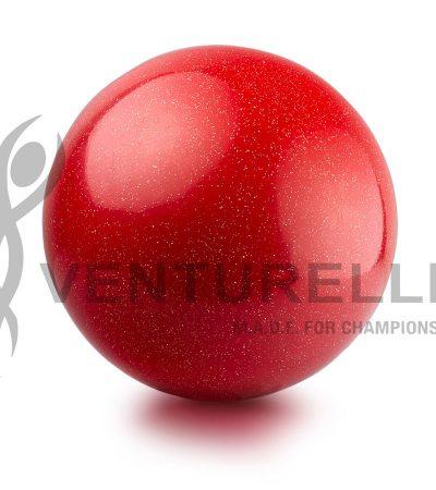 VENTURELLI-RED-GLITTER-BALL-1