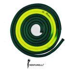 venturelli-bicolor-rope-for-rhythmic-gymnastics-pldd-3-m-color-dark-green-neon-yellow