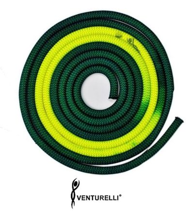 VENTURELLI-BICOLOR-ROPE-DARK-GREEN-NEON-YELLOW-PLD