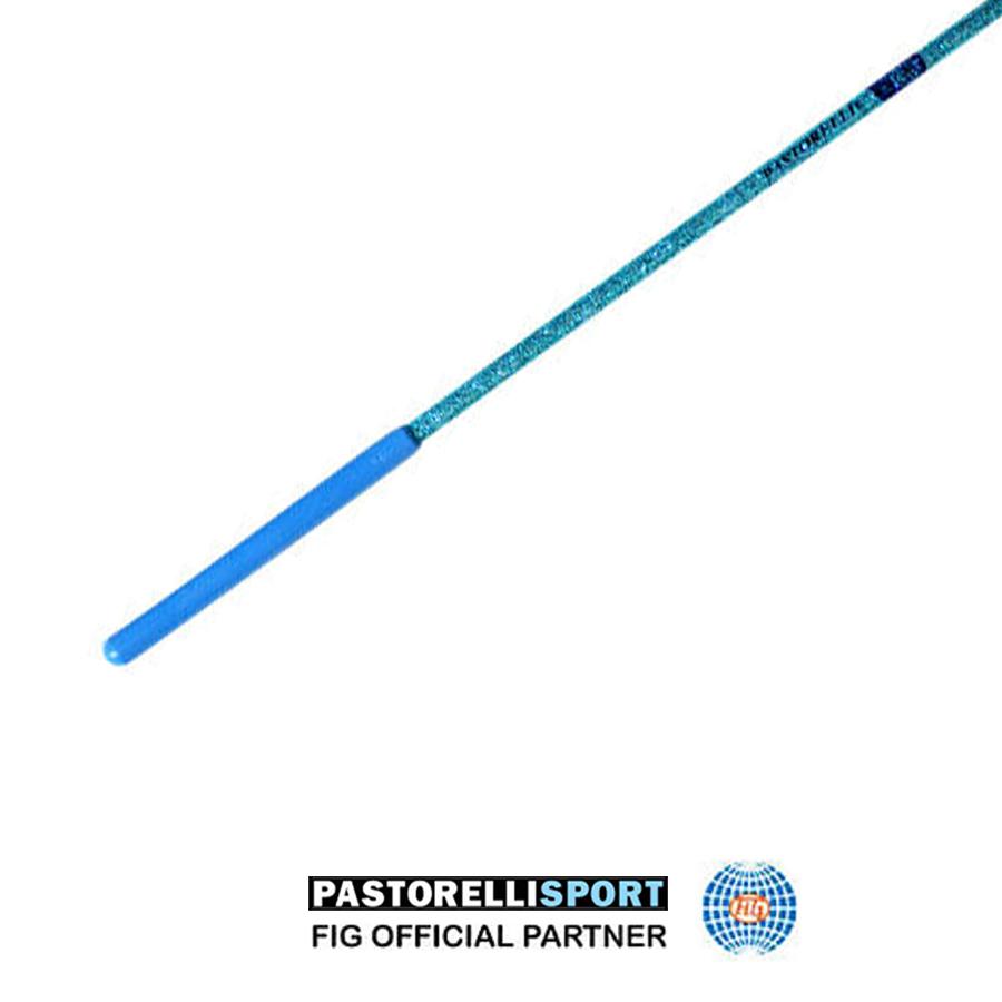 pastorelli-light blue-stick-with-light blue-grip-for-rhythmic-gymnastics-00403