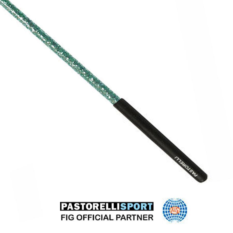 pastorelli-aqua green-stick-with-black-grip-for-rhythmic-gymnastics-00409