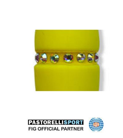 Elastic-with-stones-for-clubs-MASHA-Yellow-PAIR-(2-pieces)-02811-1