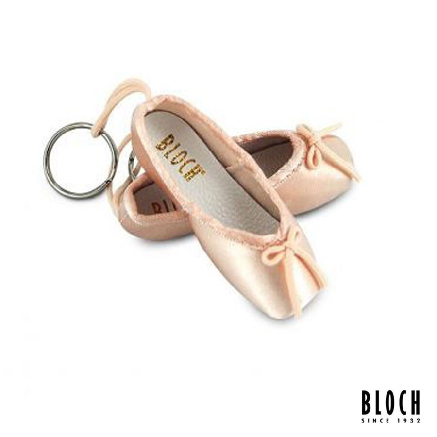 A604M KEY RING BLOCH BLACK WHITE PINK HOT PINK SILVER