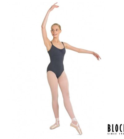 l2750 PARADISE LADIES DANCE LEOTARD BLACK