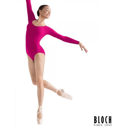 bloch-long-sleeve-leotard-l5609-color-berry