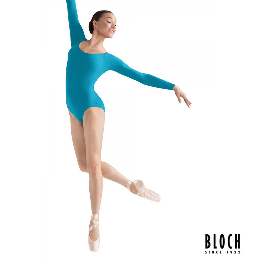 bloch-long-sleeve-leotard-l5609-color-turquoise