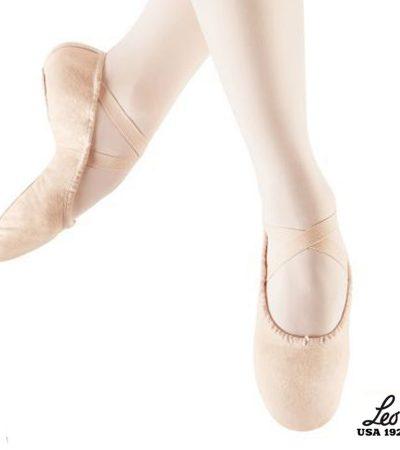 ballett, sko, soft, barn, leo