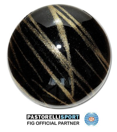 PASTORELLI-BALL-KISS&CRY-BLACK-GOLD 03249