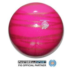 PASTORELLI GLITTER GYM / GYMNASTIKK BALL BALL KISS&CRY 18 cm