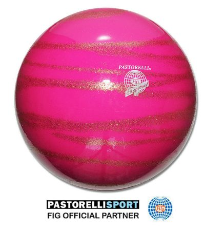 PASTORELLI-BALL-KISS&CRY-RASPBERRY-GOLD 03245