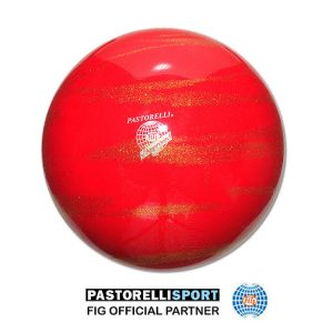 PASTORELLI-BALL-KISS&CRY-RED-GOLD 03246