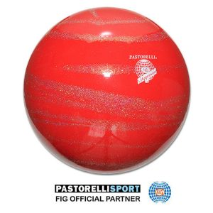 PASTORELLI-BALL-KISS&CRY-RED-SILVER 03233