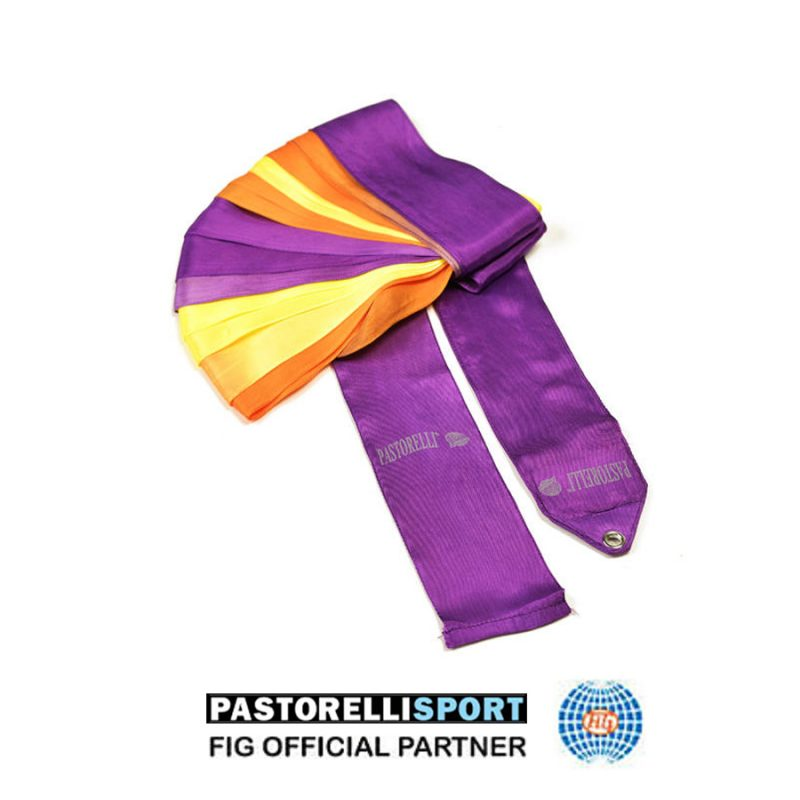 03217-VIOLET-ORANGE-YELLOW-SHADED-RIBBON-PASTORELLI-6m-FIG