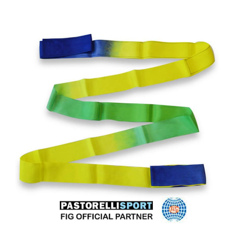 03918-BLUE-GREEN-YELLOW-SHADEDRIBBON-PASTORELLI-6m-FIG