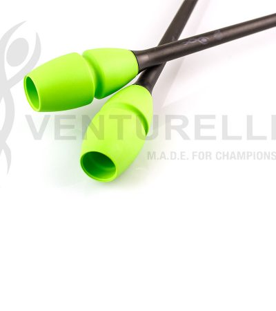 venturelli- rhythmic-gymnastics-connectable-clubs-black-green-41,5cm-45cm