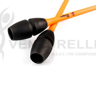 venturelli- rhythmic-gymnastics-connectable-clubs-orange-black-41,5cm-45cm