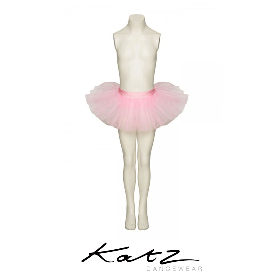 Tutu skirt with 3 net layers Elasticated waist Great for ballet, dance, fancy dress and many more occasions Ideal Christmas or birthday present Lots of other lovely colours also available Designed by Katz Dancewear