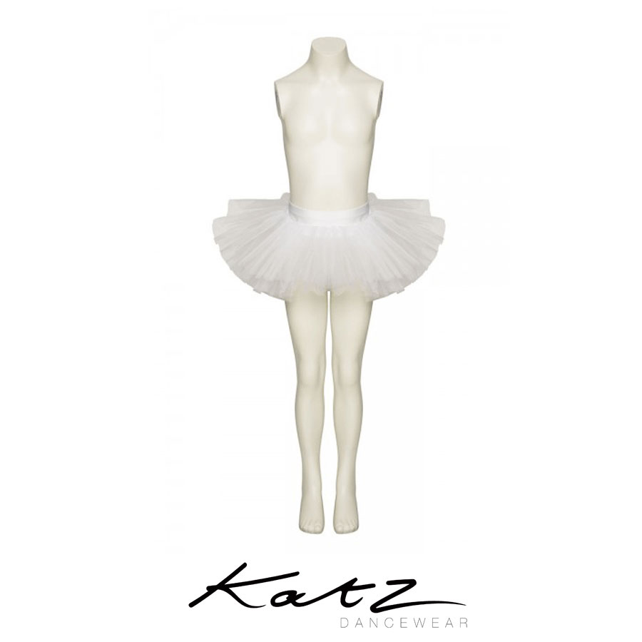 ДTutu skirt with 3 net layers Elasticated waist Great for ballet, dance, fancy dress and many more occasions Ideal Christmas or birthday present Lots of other lovely colours also available Designed by Katz Dancewear