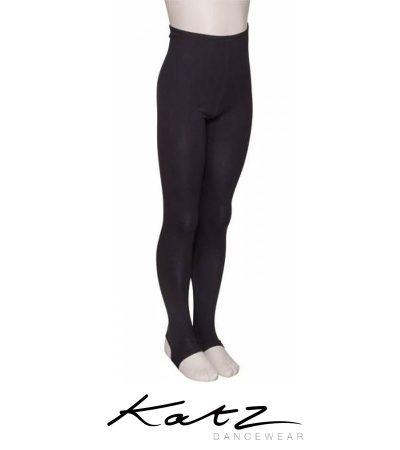 katz-cotton-dance-tights-leggings-stirrups-children-black