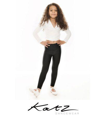 GIRLS COTTON TIE BALLET 92% Cotton 8% Lycra KATZ DANCE WRAP CROSSOVER