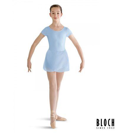 bloch-cap-sleeve-skirted-leotard-for-children-cl8262-color-pastel-blue