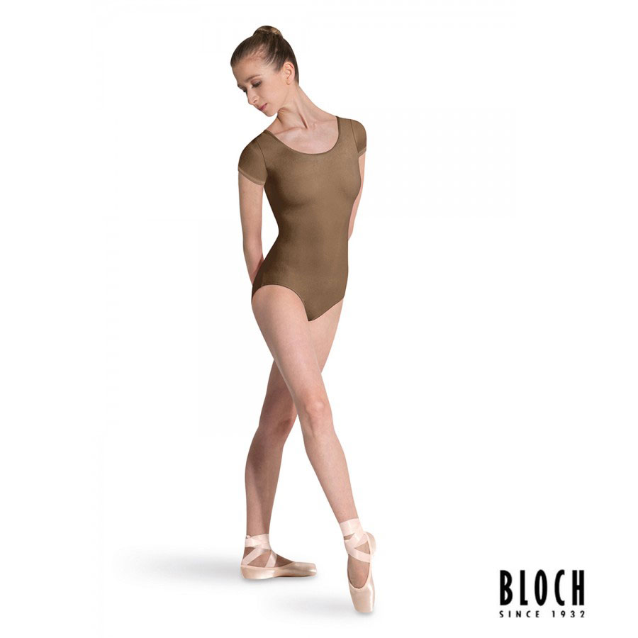 bloch-cap-sleeve-leotard-l5602-color-almond