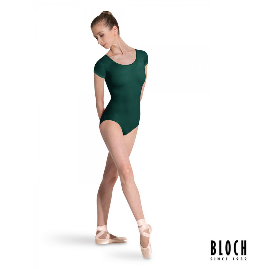 bloch-cap-sleeve-leotard-l5602-color-forest