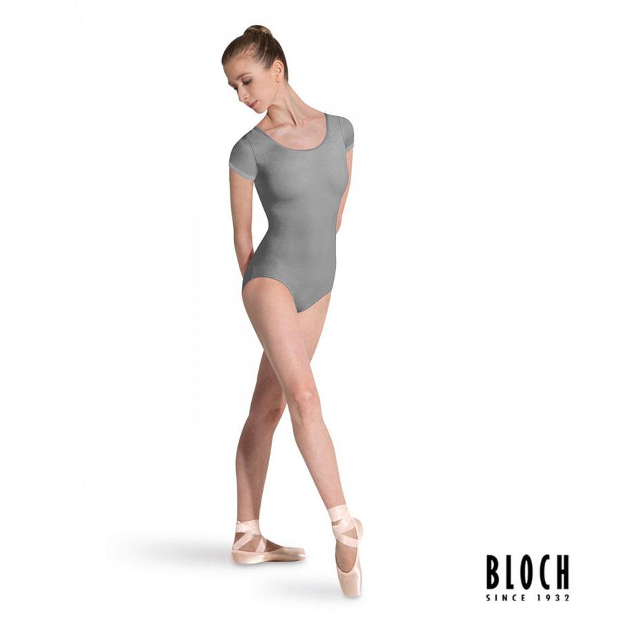 bloch-cap-sleeve-leotard-l5602-color-grey