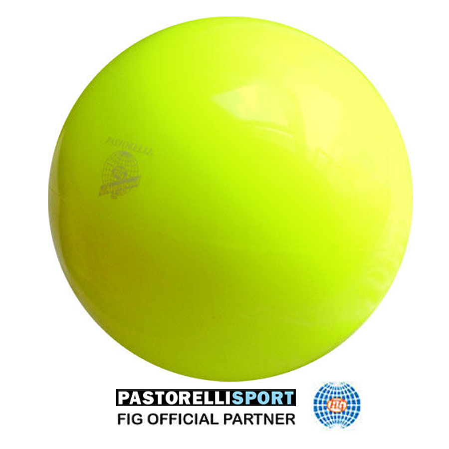 pastorelli-gym-ball-18cm-new generation-color-fluo-yellow-00014