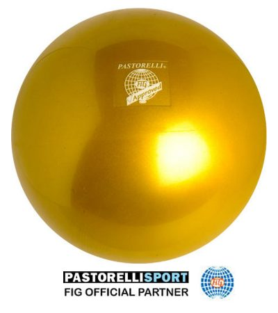 pastorelli-gym-ball-metal-18cm-new generation-color-gold-00041