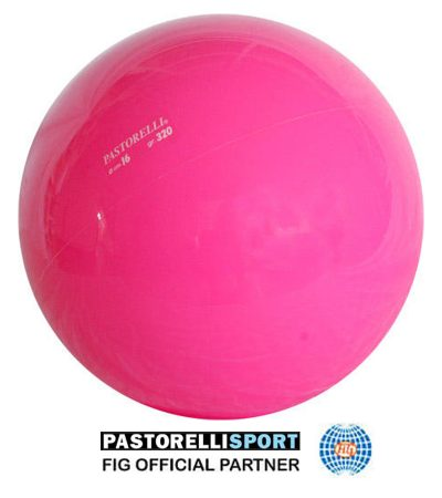 pastorelli-gym-ball-16cm-new generation-fluo-pink-00230