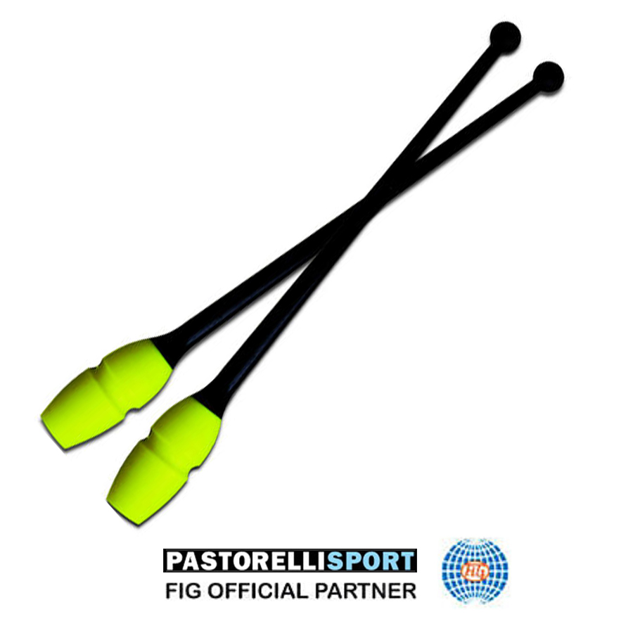 pastorelli-connectable-clubs-masha-for-rhythmic-gymnastics-45,2 cm-color-black-fluo yellow-02901