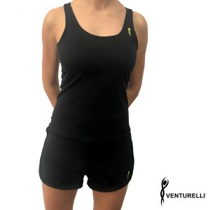 VENTURELLI BLACK-YELLOW LOGO TOP