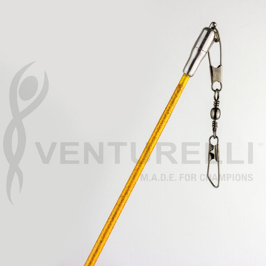 venturelli-glitter-stick-for-rhythmic-gymnastics-orange-59-cm