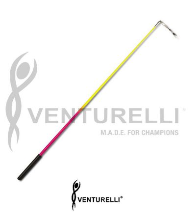 venturelli-bicolor-for-rhythmic-gymnastics-stick-neon-pink-yellow-59-cm