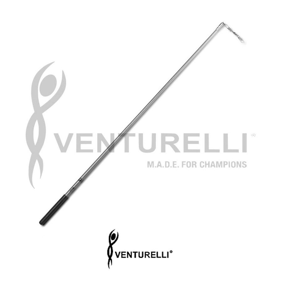 venturelli-glitter-stick-for-rhythmic-gymnastics-silver-59-cm