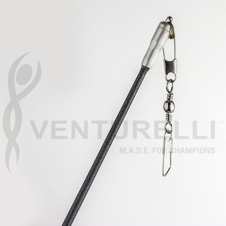 venturelli-glitter-stick-for-rhythmic-gymnastics-anthracite-59-cm
