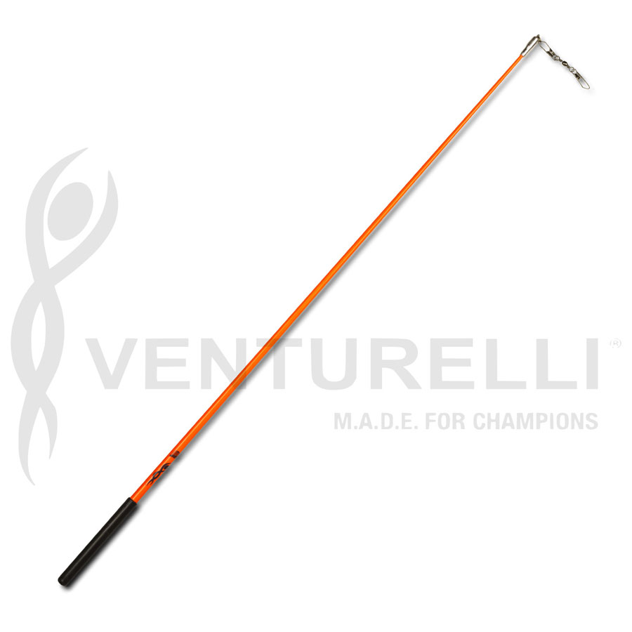 venturelli-stick-for-rhythmic-gymnastics-neon-orange-59-cm