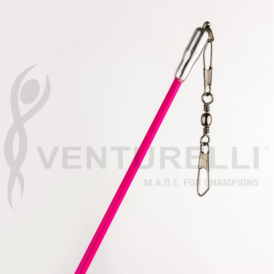 venturelli-stick-for-rhythmic-gymnastics-neon-pink-59-cm