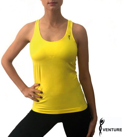 VENTURELLI TOP YELLOW