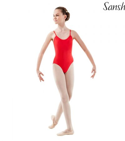 SANSHA-LEOTARD-E506M-ANGELA-RED