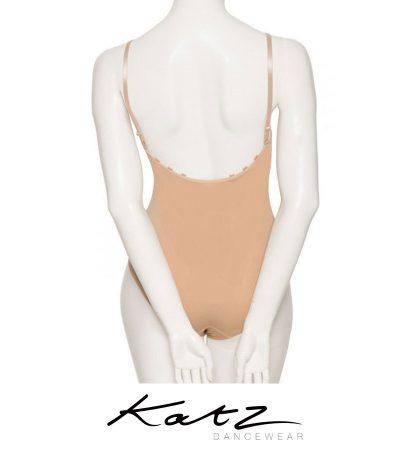 KATZ GIRLS NUDE CONVERTIBLE DANCE BALLET BODY STOCKING