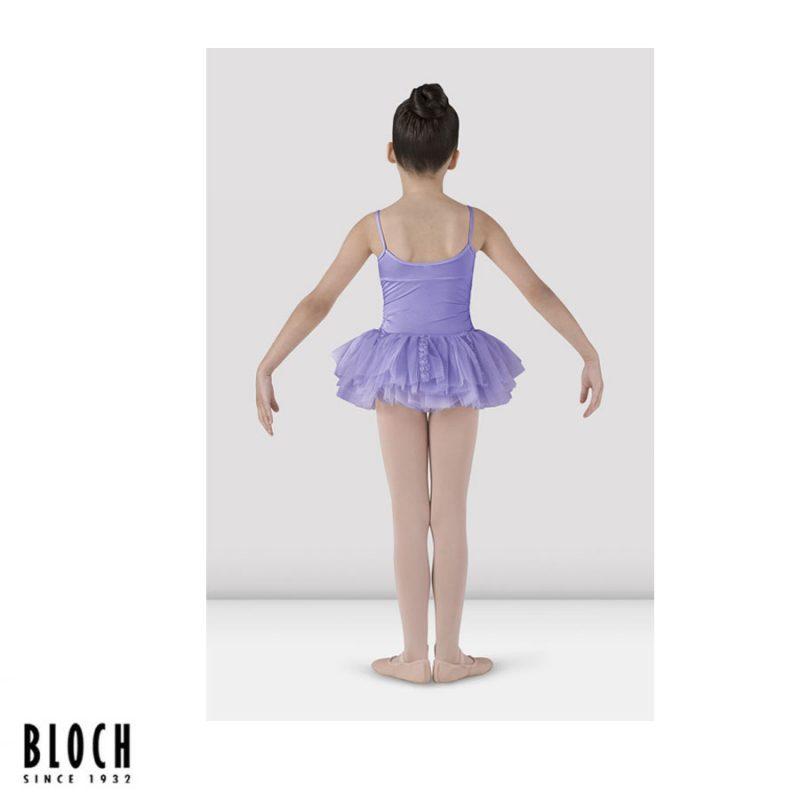 CL7207-LILAC-BLOCH MILIANI GIRLS TUTU LEOTARD
