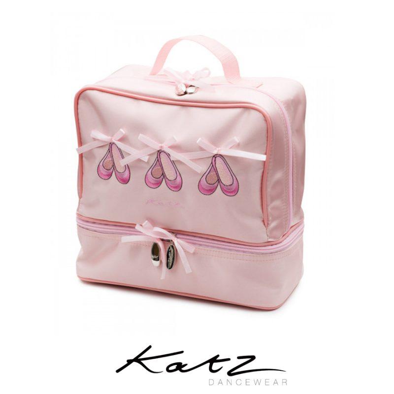 KATZ-SATIN-BALLERINA-SHOE-DANCE-HAND-BAG-KB37-23x23x12.5cm