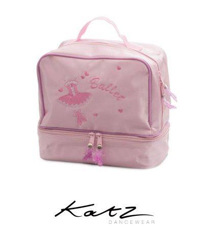 KATZ-SATIN-BALLERINA-SHOE-DANCE-HAND-BAG-KB57-23x23x12.5cm